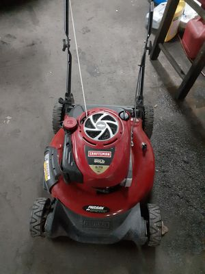 Craftsman 21 in Gold mower for Sale in Baltimore, MD