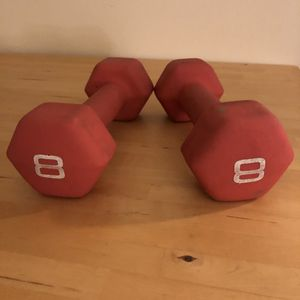 Set of 8 lb weights for Sale in Ann Arbor, MI