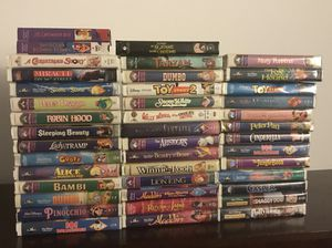Working VHS Player and movies for Sale in Odenton, MD