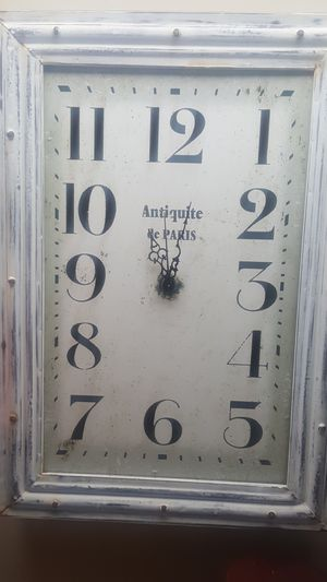 Antique clock from Paris for Sale in Federal Way, WA