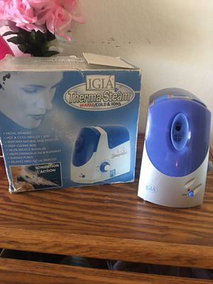 Warm and cold facial steamer for Sale in Irvine, CA
