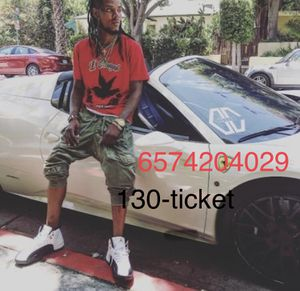 Fetty Wap Concert tickets for Sale in Rancho Santa Margarita, CA
