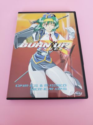 Burn Up Excess Crimes and Misdemeanors Anime DVD for Sale in Everett, WA