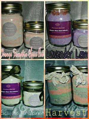 Homemade bath salt and bath powder for Sale in Tampa, FL