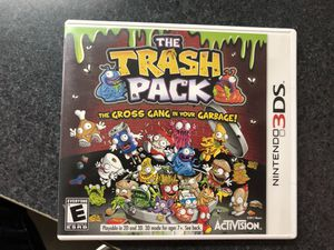 Trash Pack The Gross Gang in your Garbage game for Nintendo 3Ds for Sale in Griswold, CT