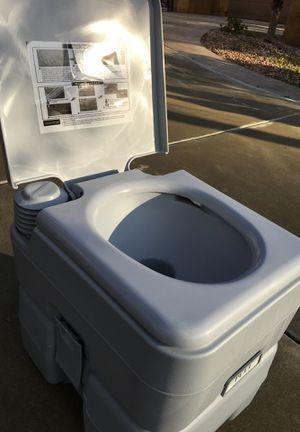 Portable toilet new 5 gallons for Sale in Chula Vista, CA