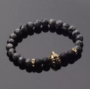 Spartan Gladiator Helmet Bracelet Gold/Grey/Black for Sale in Glendale, CA