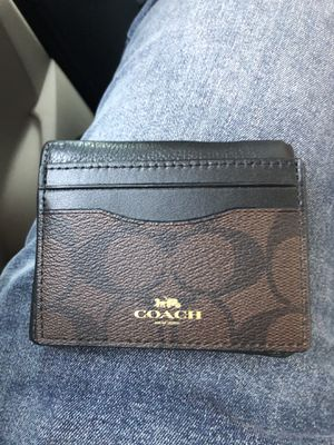 Coach men's card holder for Sale in Monterey Park, CA