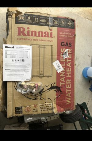 Brand New / Rinnai Tankless water heater / Natural Gas for Sale in Fayetteville, GA