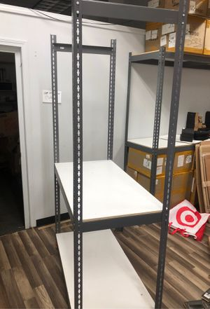 Metal shelves for storage great quality great condition for Sale in Westland, MI