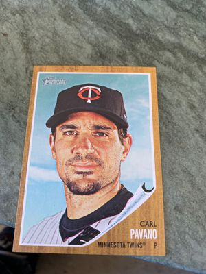 Carl pavano baseball card worth $125 I'm selling it for $100 for Sale in Martinez, CA