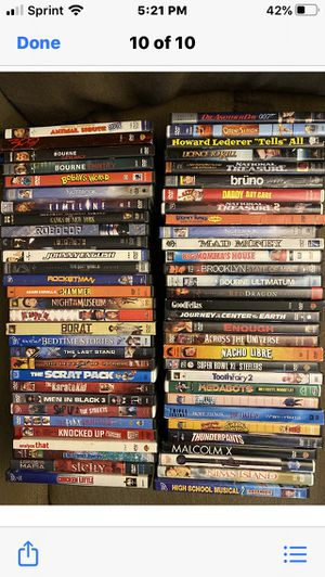 Lot of 60 DVD's for Sale in New Kensington, PA