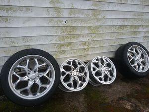 American racing wheels off set new for Sale in Salisbury, NC