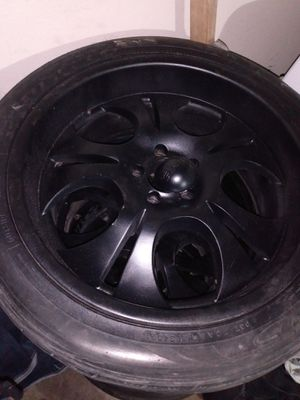 20in rims boss needs 1 tire for Sale in San Angelo, TX