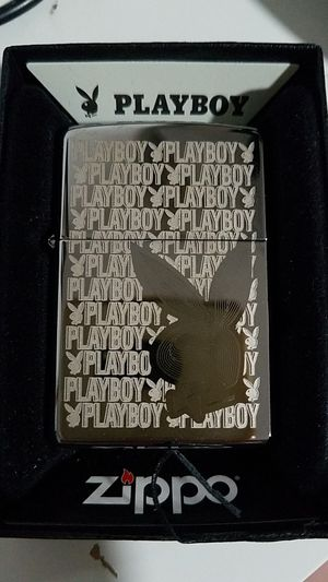 Zippo playboy high polished chrome 28545 for Sale in Los Angeles, CA