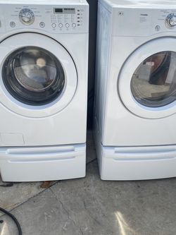 LG washer Dryer Set With Warranty for Sale in Miami Gardens,  FL