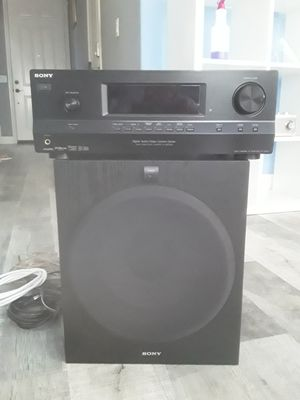 Sony stereo receiver and speaker set for Sale in Cypress, CA
