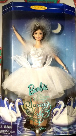 '97 Barbie Swan Queen 18509 Mattel Swan Lake for Sale in Deltona, FL