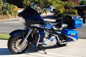 Loaded for road trips, Harley screamin eagle road glide for Sale in El Cajon, CA