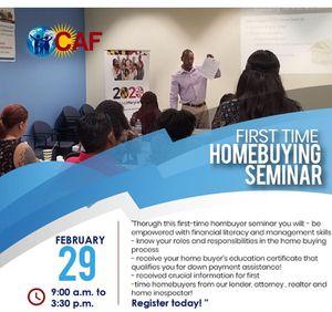 Home buying seminar $25 Feb 29 for Sale in Hyattsville, MD