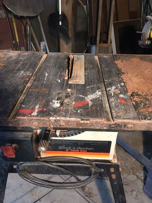 """Table saw 8"""" for Sale in MAYFIELD VILLAGE, OH"""