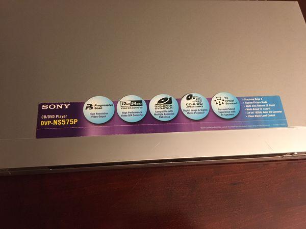 Sony CD/DVD player