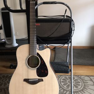 Spark By Positive Grid Practice Amp 40 And Yamaha FGX 800 Acoustic -electric Guitar . for Sale in Chicago, IL