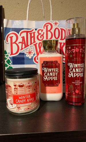 Bath & body works Winter Candy Apple gift set for Sale in Stockton, CA