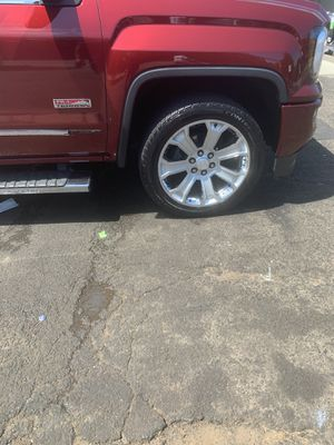 22' GMS Denali wheels and tires for Sale in Wethersfield, CT