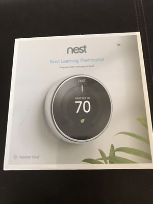 Nest new in box thermostat. Model t3019us for Sale in Claremont, CA