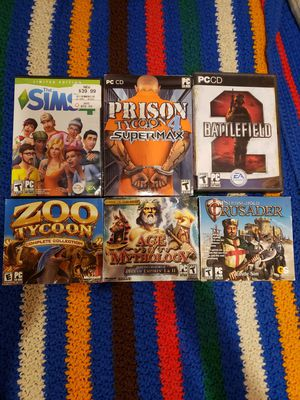 6 PC Games for Sale in Lebanon, OR