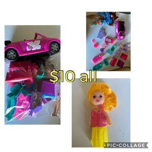 Girls toys and dolls for Sale in Albuquerque, NM