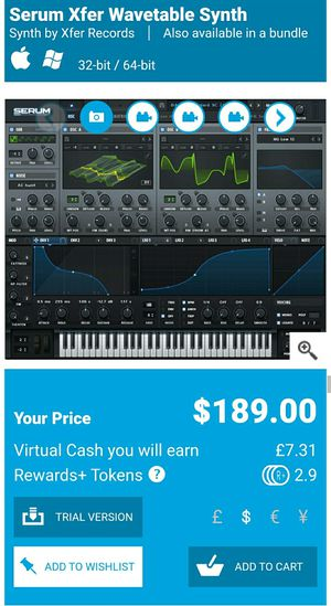 XERUM FOR WINDOWS 10 VST for Sale in Los Angeles, CA