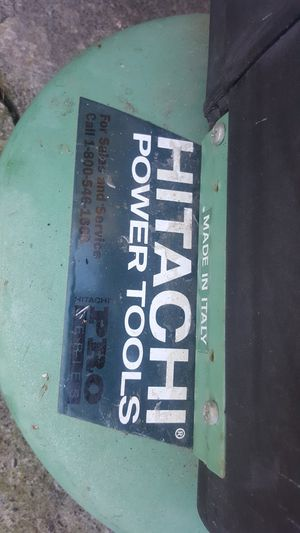 HITACHI POWER TOOLS COMPRESSOR for Sale in Portland, OR