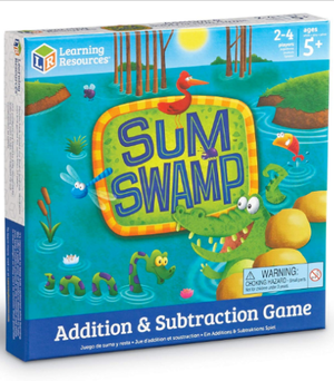 NEW Sum Swamp Addition Subtraction Game Learning Resources Fun 5+ Skill Building for Sale in Atlanta, GA