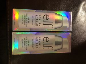 (2) ELF beauty shield moisturizers spf 50 for Sale in Pinellas Park, FL