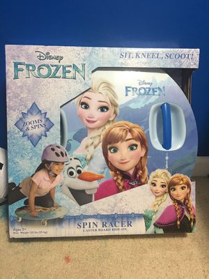 Frozen spin racer for Sale in Durham, NC