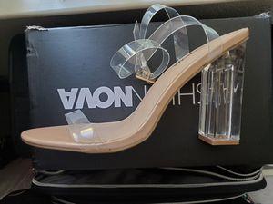 Fashionnova Maria2 Transparent Heels for Sale in San Jose, CA