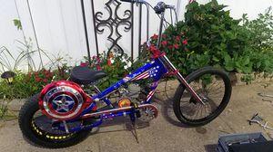 Schwinn OCC Stingray Captain America Motorized 80cc Chopper for Sale in Philadelphia, PA