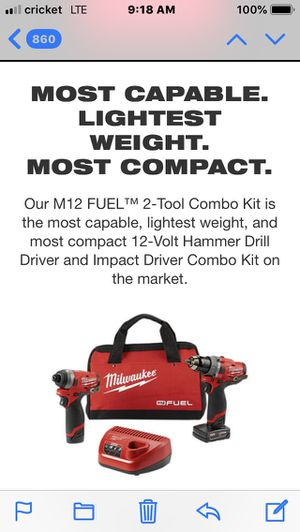 M12 fuel drill/impact kit. Brand new! for Sale in Philadelphia, PA