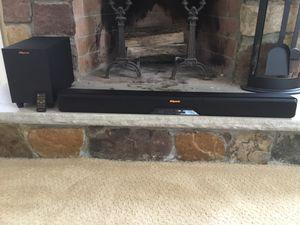 Klipsch soundbar RS6. for Sale in North Andover, MA