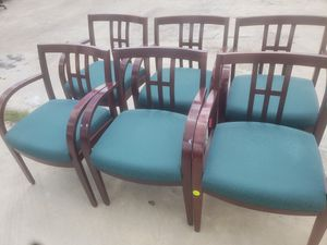 used RECEPTION CHAIRS FOR SALE!!!...each for Sale in Houston, TX