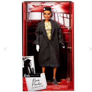 Brand New Mattell Rosa Parks Barbie Sold Out Limited Edition for Sale in Chicago, IL