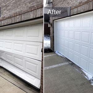 New Garage Door Spring /cables/Panels/Opener /secciones/control /sensor for Sale in South Gate, CA