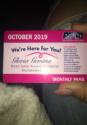 October bus pass for Sale in Providence, RI