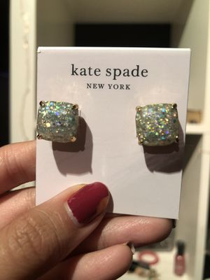 Kate Spade White Square Stud Earrings for Sale in San Francisco, CA