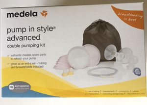 Medela pump in style Advanced double pumping kit for Sale in Pine River, MN