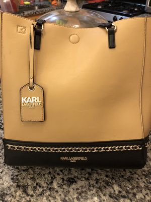 Karl Lagerfield never full bag with large wallet for Sale in Lexington Park, MD