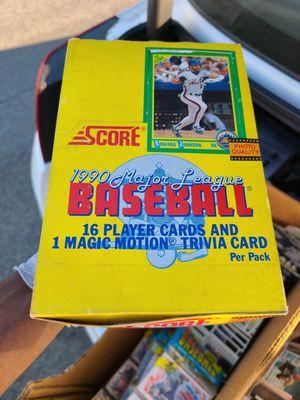 $35 per pack( baseball card set) or buy set for Sale in Ontario, CA