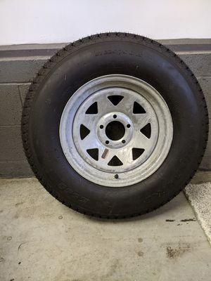 Trailer tire, size 225/75D15 for Sale in Bel Air, MD